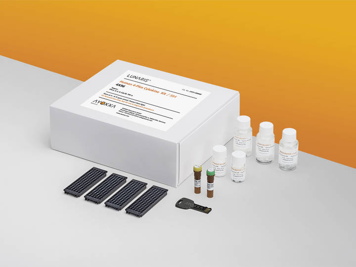 LUNARIS Human 4-Plex Cytokine Kit